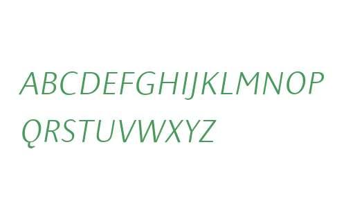 PresenceExpertLight W90 Italic