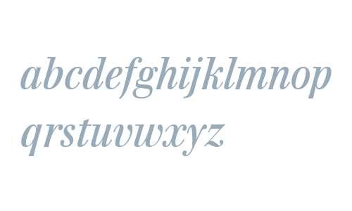 Walburn W01 Italic