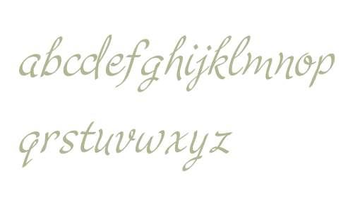 Cruz Script W03CalligraphicPro