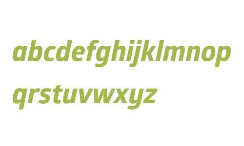 Glober W01 xBold Italic