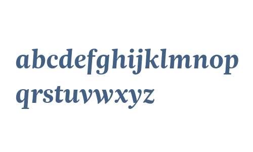 Trola Text W03 Bold Italic