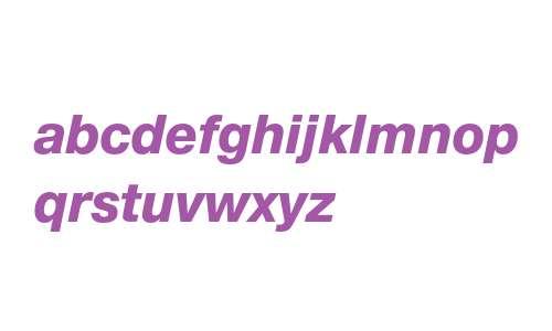 12 pt. Helvetica* 86 Heavy Italic 15472