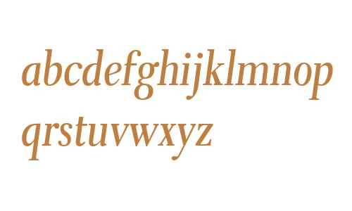 Eleonora W03 Regular Oblique