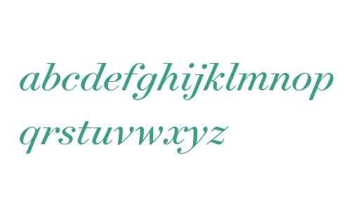 Surveyor Display Book Italic