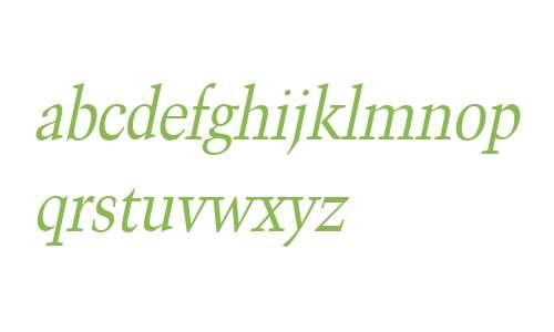 Congo Condensed Italic