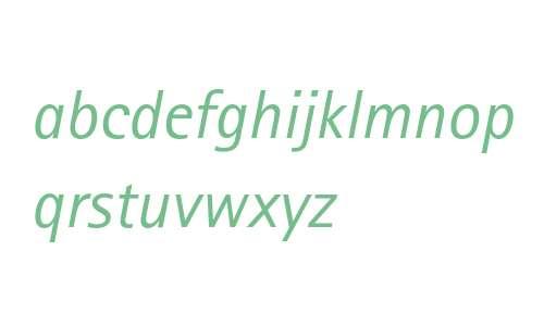 Rotis Sans Serif Italic 56