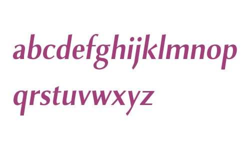 Combi Sans W01 SemiBold Oblique