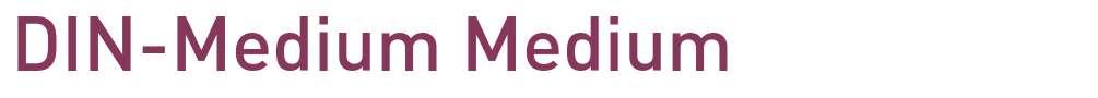DIN-Medium