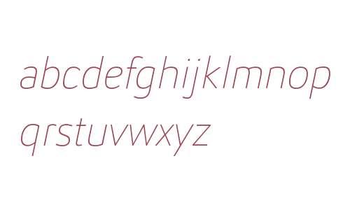 Helia Core W01 Thin Italic