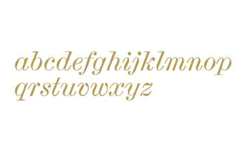 Scotch Micro W06 Italic