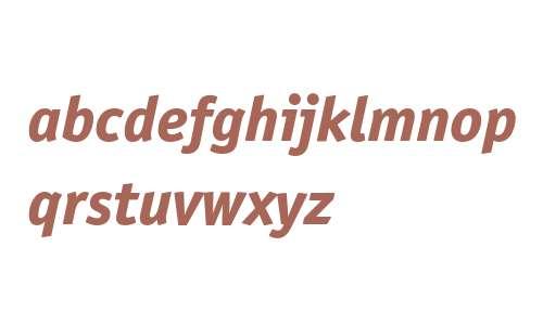Officina San ITC Extra Bold Italic