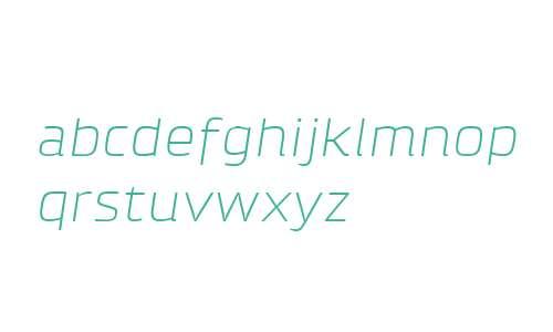 Klint W04 Light Extended Italic