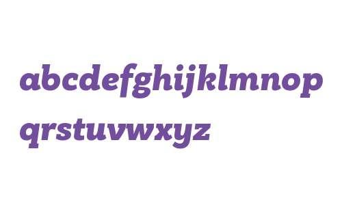 PF Bague Slab W01 Black Italic