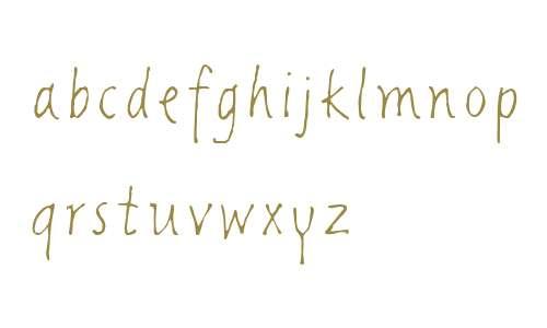 Giacometti Letter LT W04 Rg