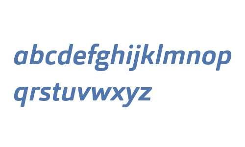 Orgon W03 Bold Italic