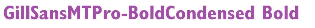 GillSansMTPro-BoldCondensed