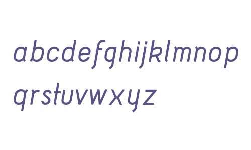 Acid Medium Italic