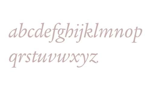 Legacy Serif ITC Book Italic OS