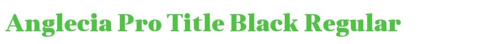 Anglecia Pro Title Black