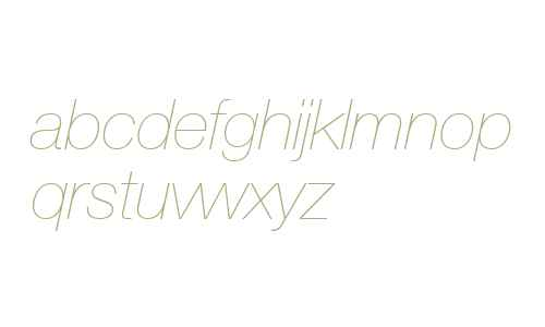 Context Reprise Light SSi Extra Light Italic