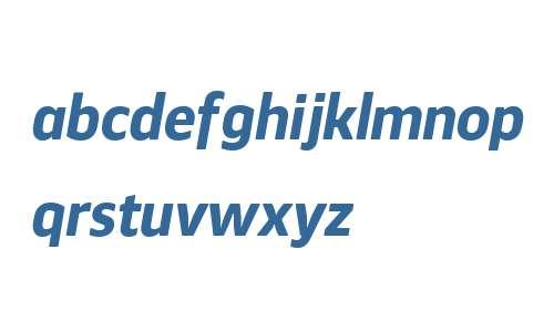 Webnar W00 Bold Italic