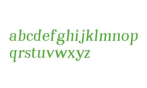 Embossanova W01 Normal Italic
