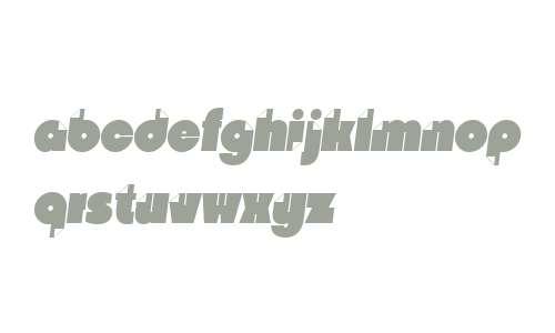 Nido W03 Black Italic