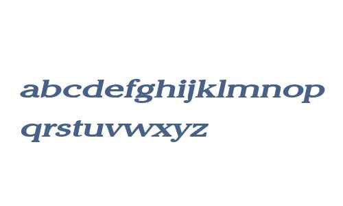 Chelsey Extended Bold Italic