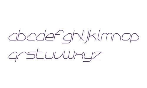 Sylar W00 Thin Italic