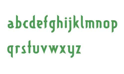 TypographictionBold W00 Regular