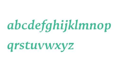 Galena W00 Bold Italic