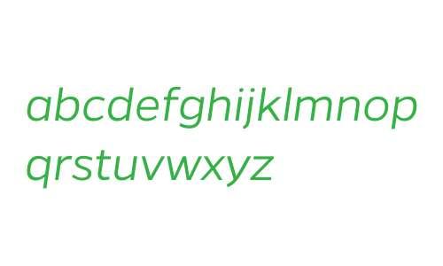 Gentona W00 Light Italic