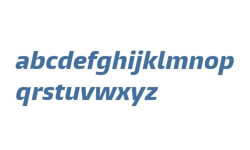 Burlingame W04 X Bold Italic