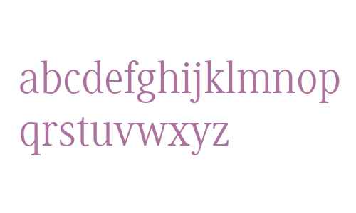 Generis Serif W04 Regular