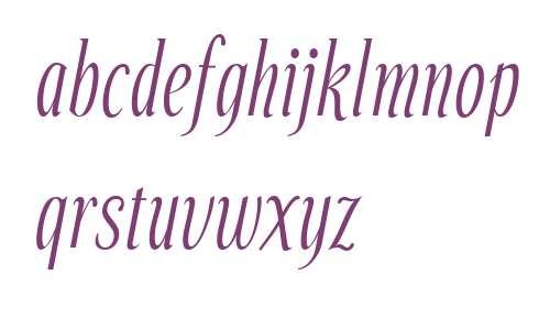 Echelon W00 Italic