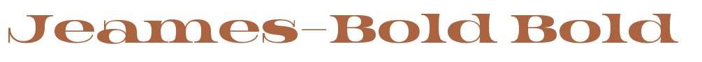 Jeames-Bold