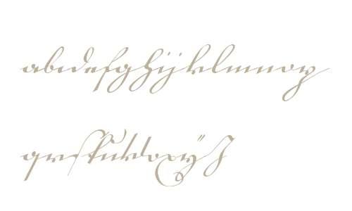 18th Century Kurrent Start