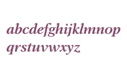 Dutch 823 Bold Italic