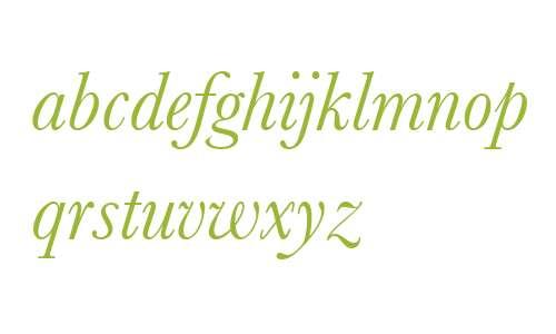 BaskervilleNo2 W03 Italic