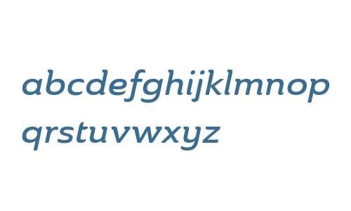 Ainslie W01 Ext Demi Italic V1