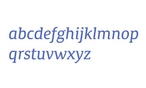 Canberra FY W03 Italic
