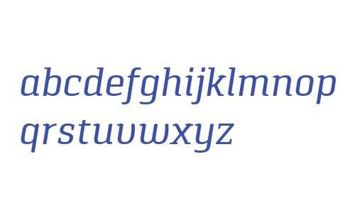Pancetta Serif Pro Italic