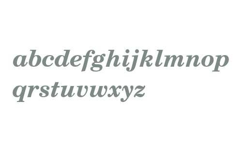 Century Schoolbook Bold Italic SWA
