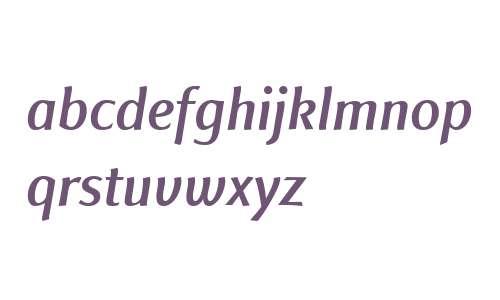 Finnegan LT W04 Medium Italic