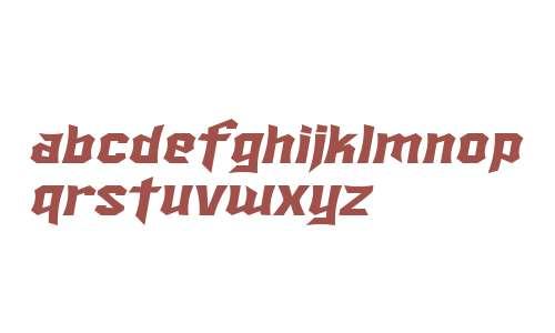 SF Ironsides Extended Italic V2 V2