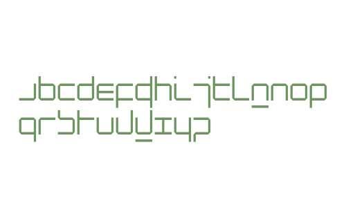 New Alphabet W95 Two