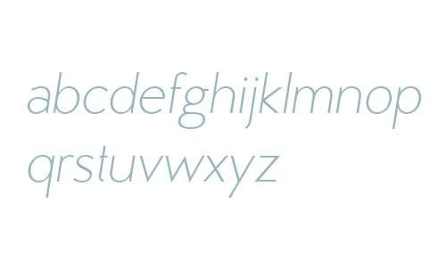 MB Vinatage W01 Light Italic
