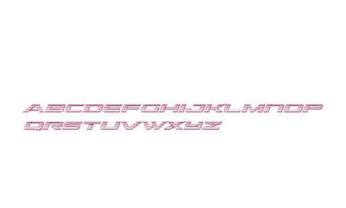Outrider Chrome Italic Italic