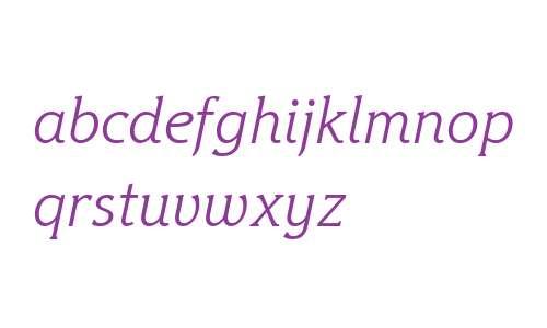 Hybrid Light W08 Italic