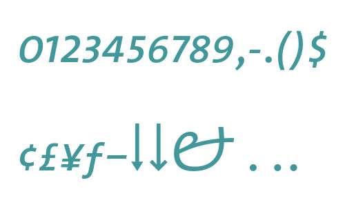 TheMix SemiLight- Expert Italic